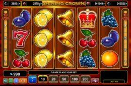 Shining Crown ingyenes nyerőgép pénz befizetés nélkül