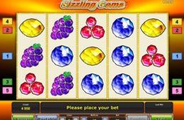 Online nyerőgépes játék Sizzling Gems