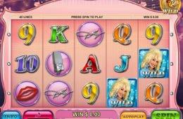 Kép a Dolly Parton nyerőgépes játékból