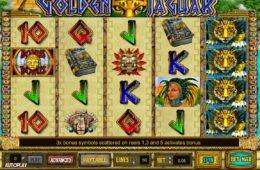 Ingyenes online nyerőgépes játék Golden Jaguar