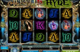 Ingyenes online casino game nyerőgép Jekyll and Hyde