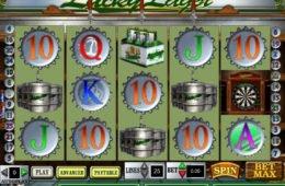 Casino Online ingyenes nyerőgép Lucky Lager szórakozáshoz