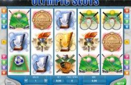 Online nyerőgép Olympic Slots pénzbefizetés nélkül