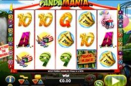 Ingyenes nyerőgépes játék Pandamania pénzbefizetés nélkül