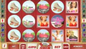 Kép a Pin Up Girls nyerőgépes játékból