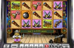 Online casino nyerőgépes játék Pirate II szórakozáshoz