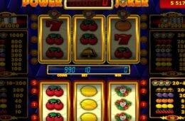Online ingyenes nyerőgépes kaszinó játékgép Power Joker