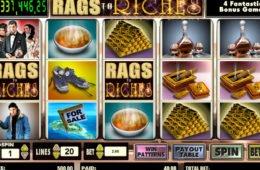 Ingyenes casino játék Rags to Riches