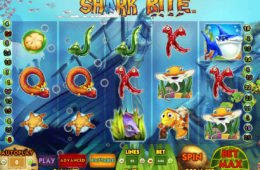 Play free online casino slot Shark Bite