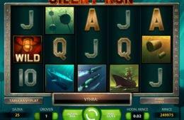 Kép a Silent Run casino nyerőgépes játékból