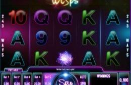 Online casino nyerőgépes játék Wisps