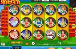 Kép World Soccer nyerőgépből