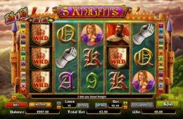 Nyerőgépes játék 5 Knights pénzbefizetés nélkül