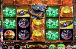 Ingyenes nyerőgépes játék Alkemor's Tower