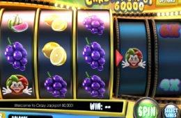 Casino online nyerőgépes játék Crazy Jackpot 60,000