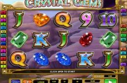 Játsszon a Crystal Gems nyerőgéppel befizetés nélkül