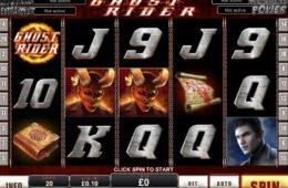 Online casino nyerőgépes játék Ghost Rider