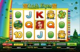 Ingyenes nyerőgép online Irish Eyes