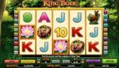 Ingyenes casino nyerőgép King Tiger online