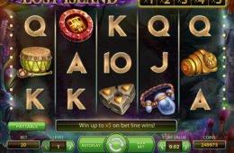 Online casino játék Lost Island