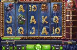 Mythic Maiden ingyenes nyerőgép szórakozáshoz