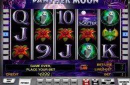 Casino nyerőgépes kaszinó játék Panther Moon pénzbefizetés nélkül