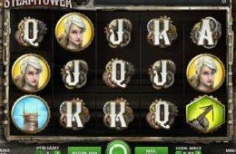 Ingyenes casino nyerőgép Steam Tower online