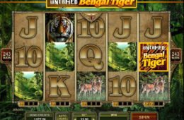 Online nyerőgépes játék Untamed Bengal Tiger