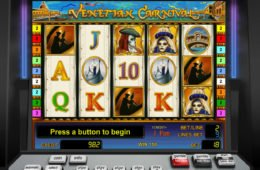 Venetian Carnival ingyenes nyerőgépes játék online