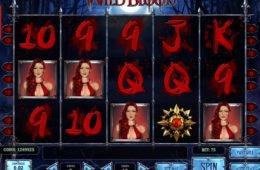Online casino nyerőgépes játék Wild Blood