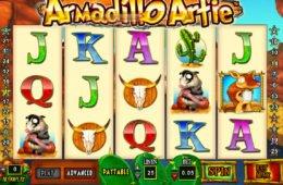 Ingyenes nyerőgép Armadillo Artie