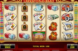 Kép a Billyonaire casino nyerőgépről