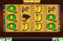 Casino nyerőgép Fire of Egypt ingyenesen játszható
