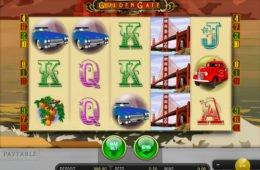 Pénzbefizetés nélküli nyerőgép Golden Gate