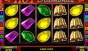 A Hot Diamonds online nyerőgép képe
