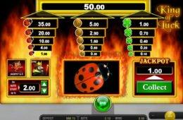 Online ingyenes nyerőgép King of Lucky