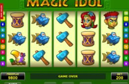 Casino online nyerőgép Magic Idol