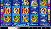 Letöltést nem igénylő Mermaids Millions ingyenes kaszinó játék