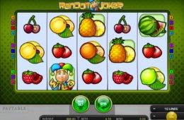A Random Joker ingyenes nyerőgép képe