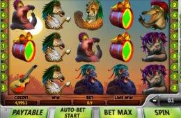 Spin casino játék Safari Samba