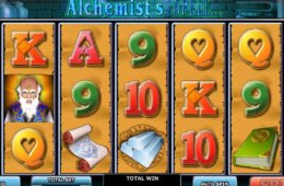 Online nyerőgép szórakozáshoz The Alchemist's Spell