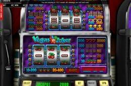 A Vegas Joker online nyerőgép képe