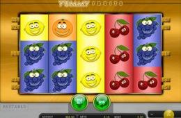 Pénzbefizetés nélküli játékgép Yummy Fruits online