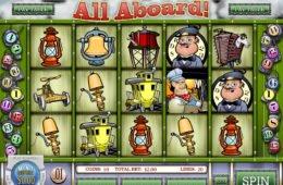 Az All Aboard! casino játék képe
