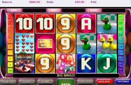 Letöltés nélkül játszható Bingo Slot online nyerőgép