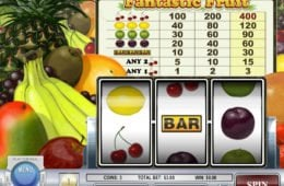 Játsszon a Fantastic Fruit nyerőgéppel