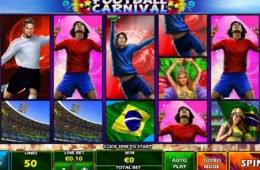 Online nyerőgépes casino játék Football Carnival