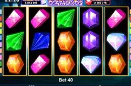 Játsszon a Jackpot Diamonds ingyenes nyerőgéppel