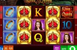 Casino online nyerőgép King & Queen szórakozáshoz