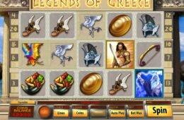 Casino online nyerőgép Legends of Greece